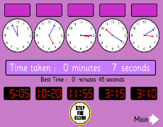 Smashmaths - Time - Interactive Learning for the Australiam ...